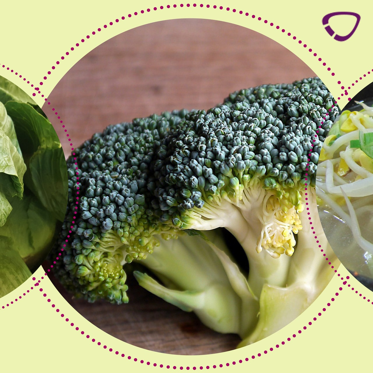 Folsäure ist in verschiedenen Arten von Gemüse enthalten.