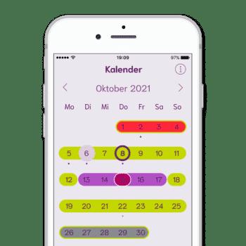 cyclotest mySense - Kalender