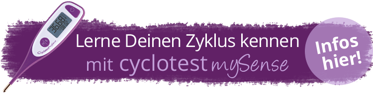 Den Zyklus kennenlernen mit cyclotest mySense.