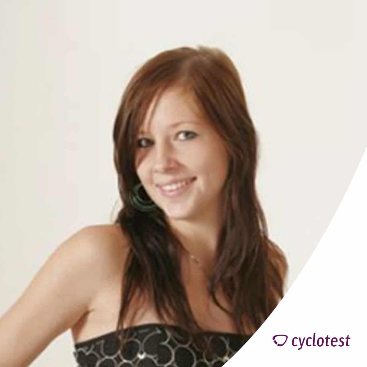 Laura ist mit der Entscheidung für den cyclotest myWay sehr zufrieden.