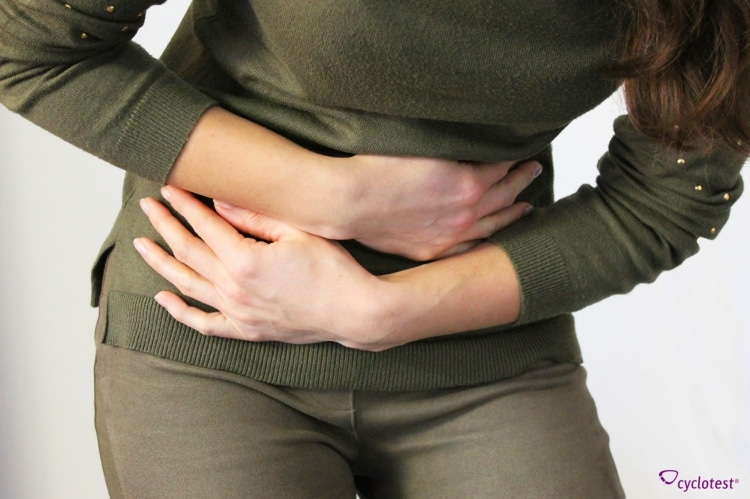 Unterleibsschmerz, der um den Ovulationstag herum auftritt, nennt man Mittelschmerz.