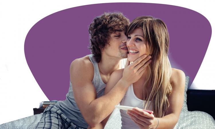 Schwanger werden mit einem Ovulationstest.
