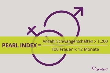 Berechnung der Pearl-Index-Formel