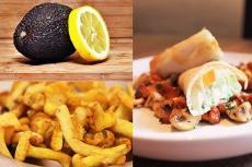 Rezept Avocado mit Lachs und Gemüsestrudel gegen Beschwerden vor der Menstruation.