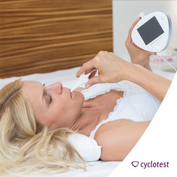 Durch die präzise Ermittlung der fertilen Phase kann man mit der Anwendung von cyclotest myWay nach Absetzen der Pille schwanger werden.