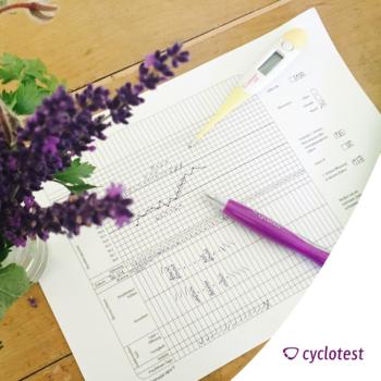 Mit der symptothermalen Methode die fruchtbaren und unfruchtbaren Tage auswerten.