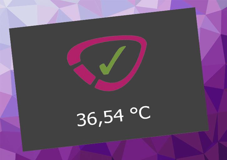 Mit dem cyclotest myWay kann einfach eine Testmessung der Temperatur vorgenommen werden.