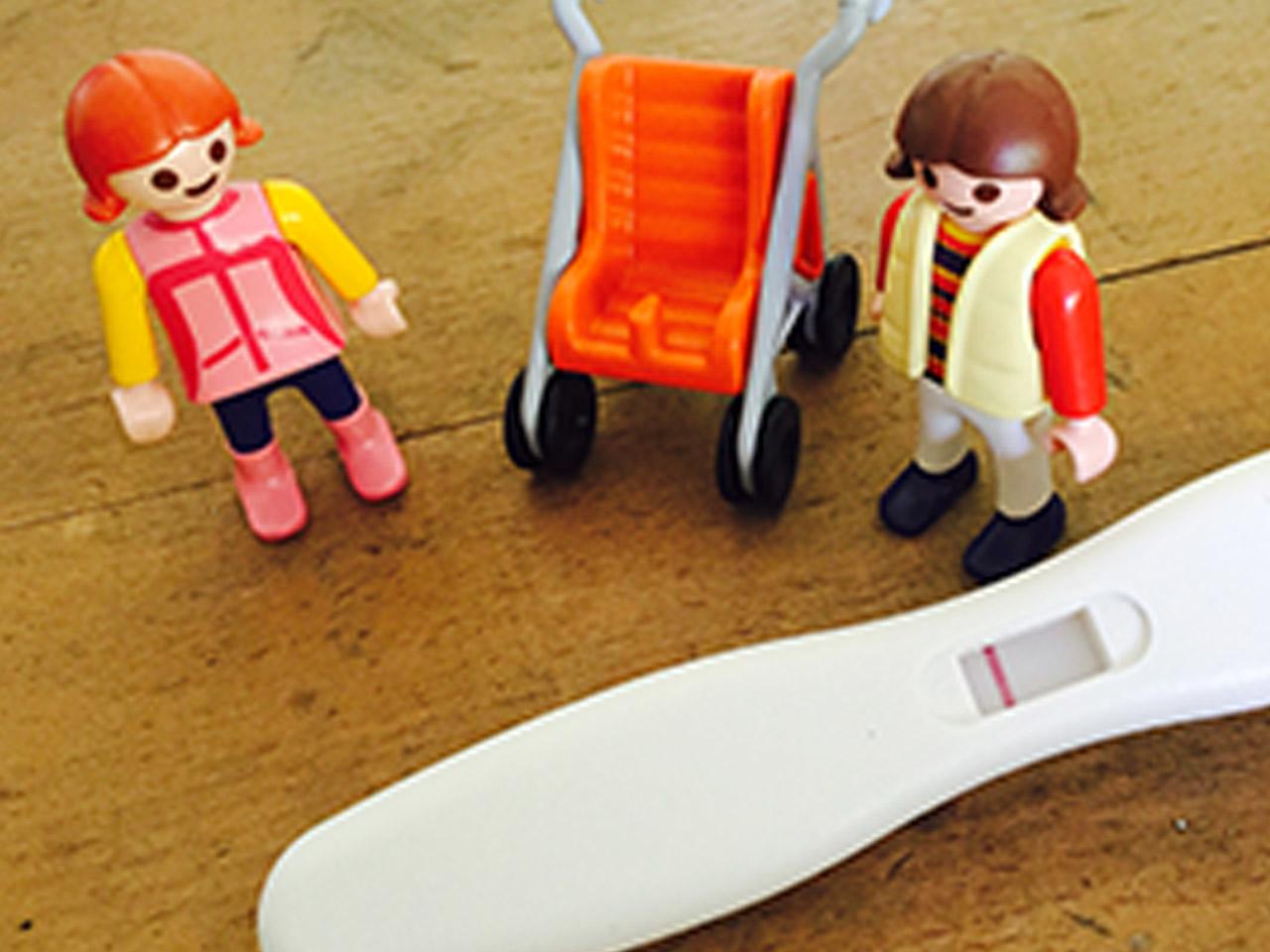 Bei unerfülltem Kinderwunsch ist ein negativer Schwangerschaftstest eine schlechte Nachricht.
